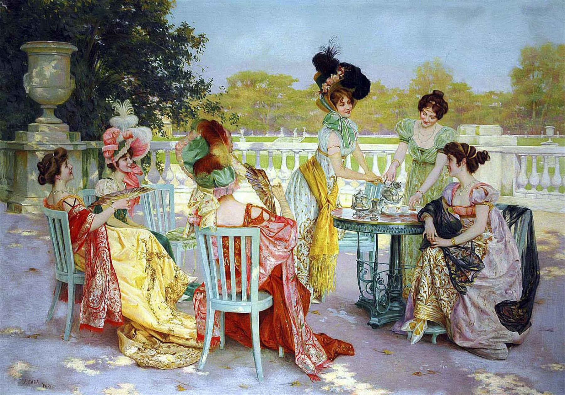 High Tea With The Girls Catch Up With A Mate