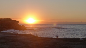 Sunrise Clovelly...Oh, how I love the East