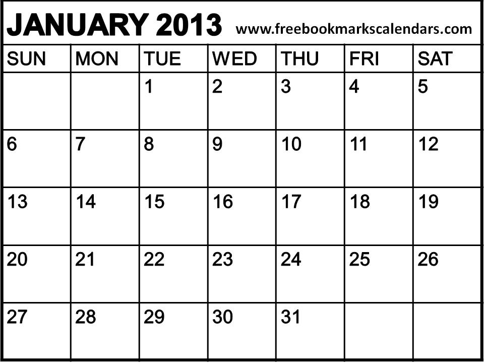 The month that got away...January 2013