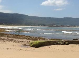 Surfer- Bellambi Beach