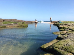 Mum & Dad- Natures Infinity Pool, Little Austi Beach