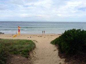 Sandon Point Beach