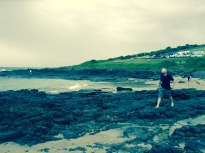 Dad on The Farm Beach