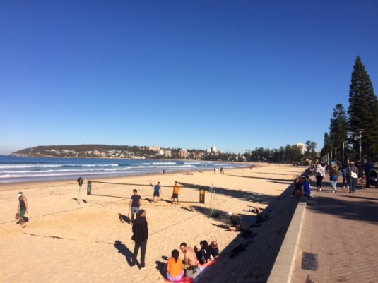 Queenscliff Beach looking towards Manly